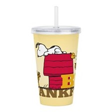 Peanuts: Be Thankful Acrylic Double-Wall Tumbler