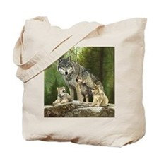Cute Wolf Tote Bag