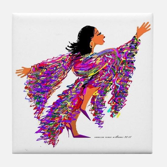 Rejoice Tile Coaster