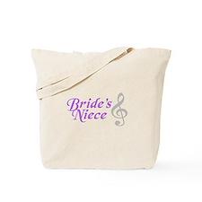Bride's Niece(clef) Tote Bag