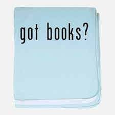 got books black.png baby blanket