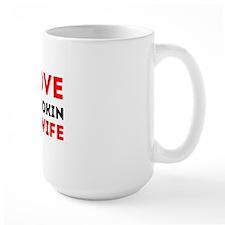 I Love My Smokin Hot Wife Mug