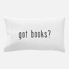 got books black.png Pillow Case