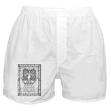 Unique White rose Boxer Shorts