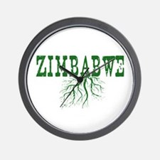 Zimbabwe Roots Wall Clock