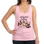lubly bully original designs Racerback Tank Top