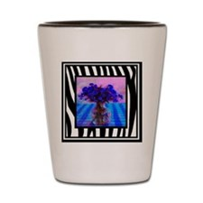 Unique Blue vase Shot Glass