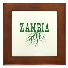 Zambia Roots Framed Tile