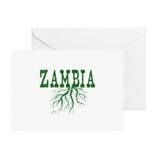 Zambia Roots Greeting Card