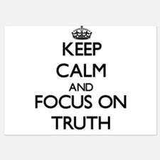 Keep Calm by focusing on Truth Invitations