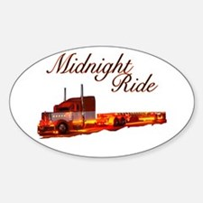 Midnight Ride Oval Decal