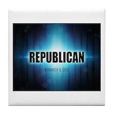 Republican Tile Coaster