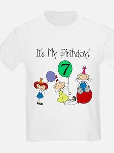 My 7th Birthday T-Shirt