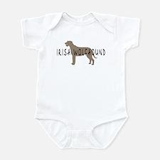 Irish Wolfhound w/ Text Infant Bodysuit