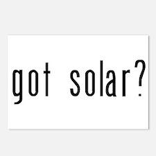 got solar black.png Postcards (Package of 8)