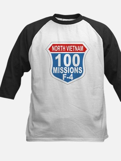 100 Missions F-4 Baseball Jersey