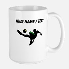 Custom Soccer Kick Mugs