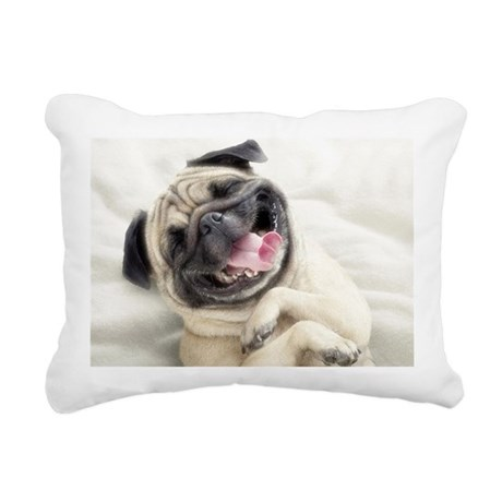funny dog rectangular canvas pillow by listing store 124728650 With canvas dog pillow