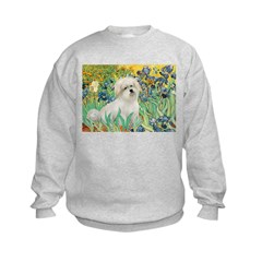 Irises / Coton Sweatshirt