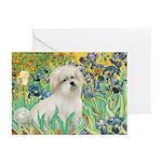 Irises / Coton Greeting Cards (Pk of 10)