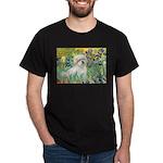 Irises / Coton Dark T-Shirt