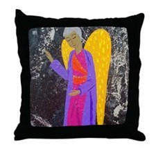 angel blessing Throw Pillow