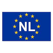 EU Netherland Stickers