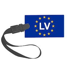 sticker LV blue 5x3.psd Luggage Tag