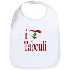 I Love Tabouli Tabuli Bib