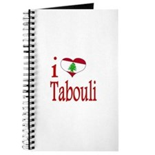 I Love Tabouli Tabuli Journal