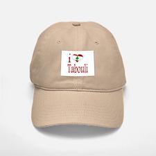 I Love Tabouli Tabuli Baseball Baseball Cap