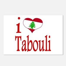 I Love Tabouli Tabuli Postcards (Package of 8)