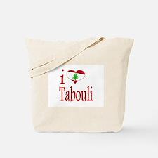 I Love Tabouli Tabuli Tote Bag
