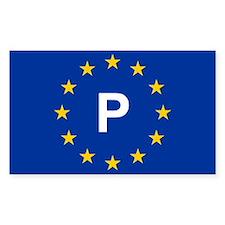 EU Portugal Decal