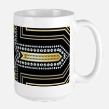 Art Deco Cross Mugs