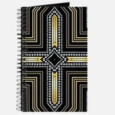 Art Deco Cross Journal