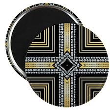 Art Deco Cross Magnets