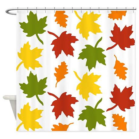 Autumn Colors Shower Curtain By Izmetsdream