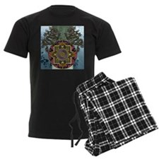 Harvest Moons Dragon Mandala Pajamas