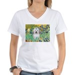Irises / Coton Women's V-Neck T-Shirt