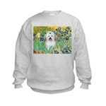 Irises / Coton Kids Sweatshirt
