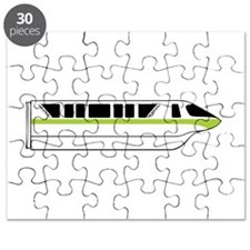 Monorail Green Puzzle