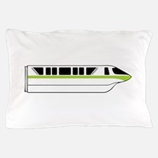 Monorail Green Pillow Case