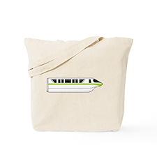 Monorail Green Tote Bag