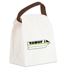 Monorail Green Canvas Lunch Bag