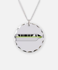 Monorail Green Necklace