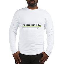 Monorail Green Long Sleeve T-Shirt