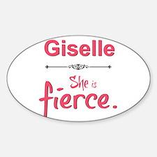 Giselle is fierce Decal