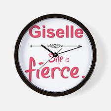 Giselle is fierce Wall Clock