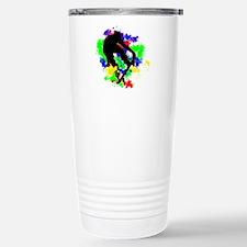 Graffiti Paint Splotche Travel Mug